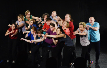 Off Theater NRW Aufbau Fortbildung Theaterpädagogik BuT® Titel: Abschlussinszenierung AB 10 – Geschlossene Veranstaltung